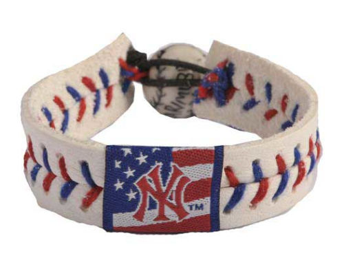New York Yankees MLB Stars and Stripes Game Wear Bracelet