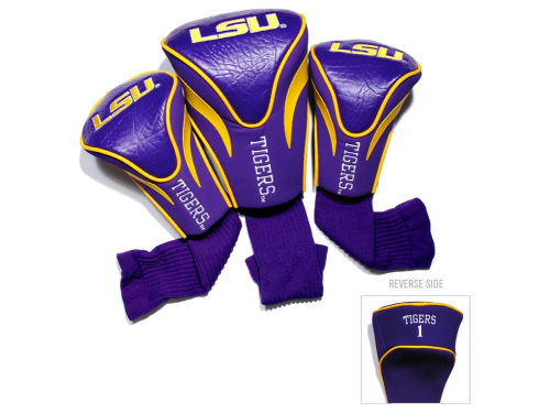 LSU Tigers Team Golf Headcover Set