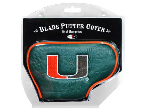 Miami Hurricanes Team Golf Blade Putter Cover