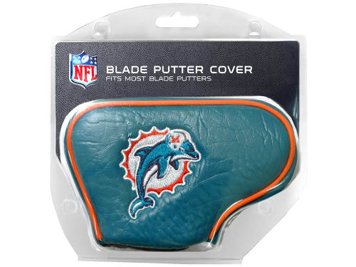 Miami Dolphins Team Golf Blade Putter Cover