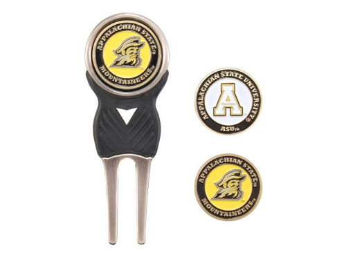 Appalachian State Mountaineers Team Golf Divot Tool and Markers