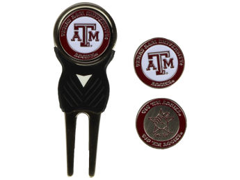 Texas A&M Aggies Team Golf Divot Tool and Markers images, details and specs