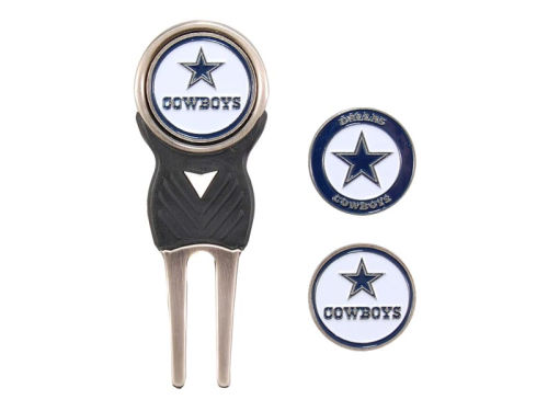 Dallas Cowboys Team Golf Divot Tool and Markers