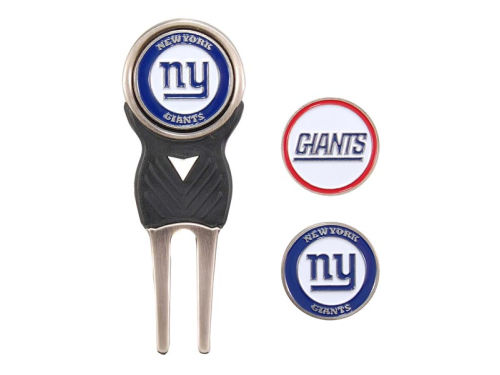 New York Giants Team Golf Divot Tool and Markers
