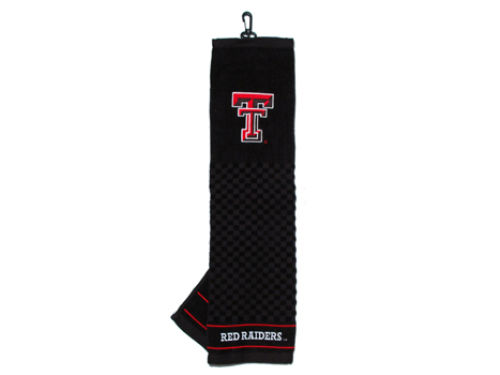Texas Tech Red Raiders Team Golf Trifold Golf Towel