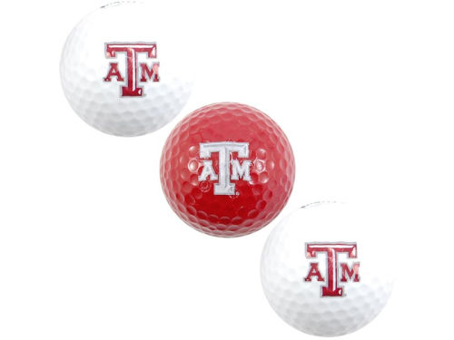 Texas A&M Aggies 3pk Golf Ball Set