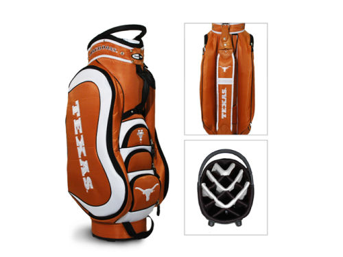 Texas Longhorns Team Golf NCAA Medal Cart Bag