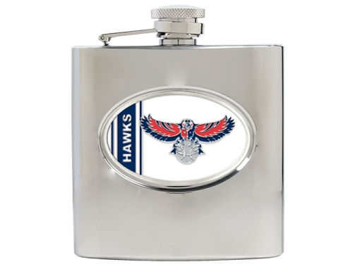 Atlanta Hawks Great American Products Hip Flask