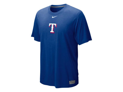 Texas Rangers Nike MLB AC Dri-Fit Logo Legend T-Shirt