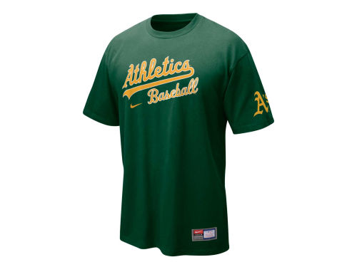 Oakland Athletics Nike MLB Practice II T-Shirt