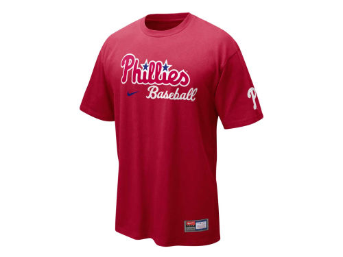Philadelphia Phillies Nike MLB Practice II T-Shirt