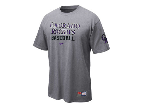 Colorado Rockies Nike MLB Practice II T-Shirt