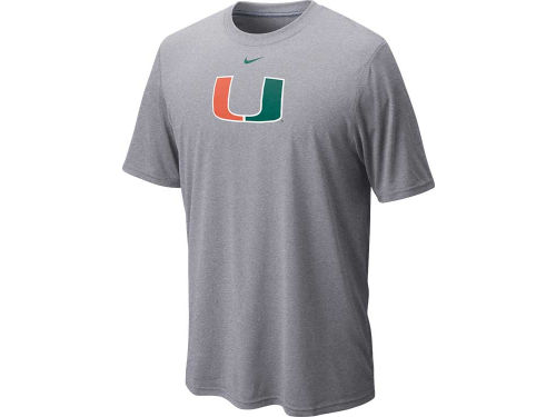 Miami Hurricanes Nike NCAA Dri-Fit Logo Legend T-Shirt