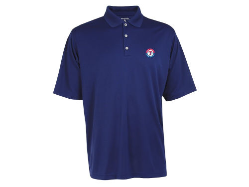 Texas Rangers Antigua MLB Exceed Polo