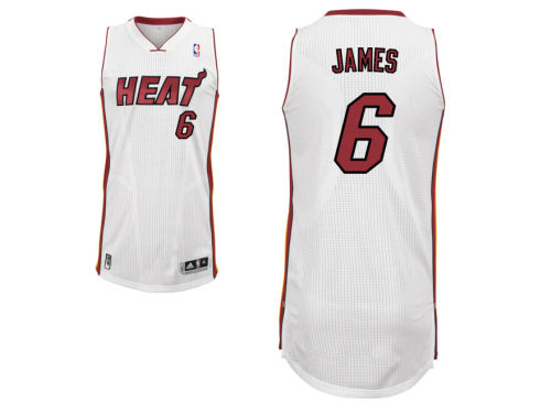 Miami Heat LeBron James adidas NBA Youth Revolution 30 Swingman Jersey