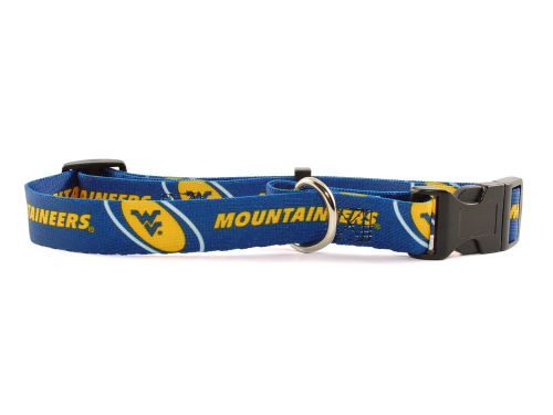 West Virginia Mountaineers Large Dog Collar
