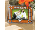 Texas Longhorns Art Glass Picture Frame Bed & Bath