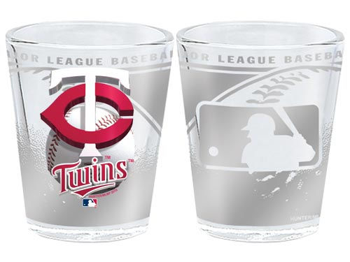Minnesota Twins 3D Wrap Collector Glass