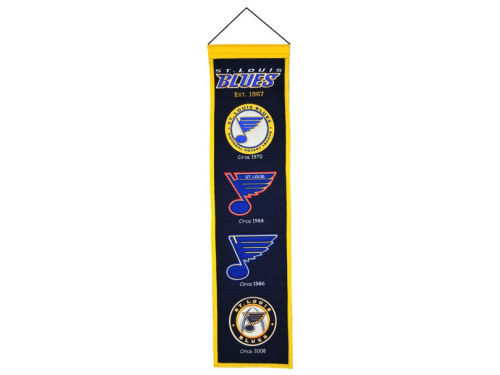 St. Louis Blues Heritage Banner