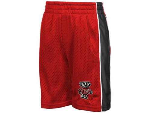 Wisconsin Badgers Colosseum NCAA Vector Shorts
