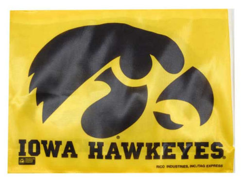 Iowa Hawkeyes Rico Industries Car Flag