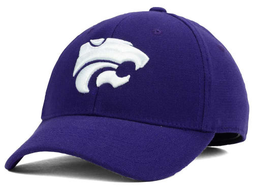 Kansas State Wildcats Top of the World NCAA Team Color PC Cap Hats