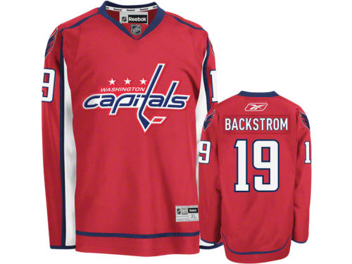Washington Capitals Niklas Backstrom Reebok NHL Premier Player Jersey
