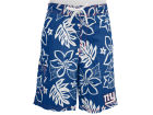 New York Giants GIII NFL Hawaiian Print Swim Trunks Swimwear