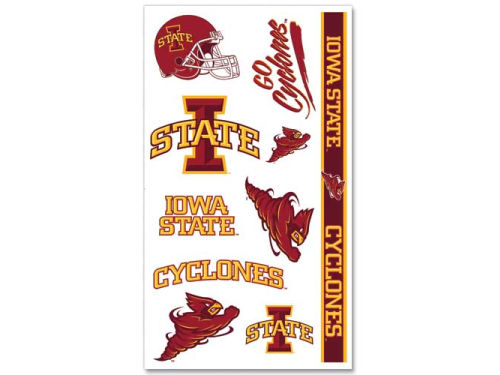 Iowa State Cyclones Wincraft Temporary Tattoos