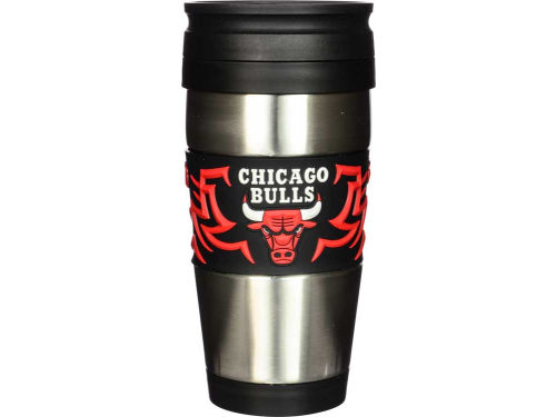 Chicago Bulls Stainless Steel Travel Tumbler