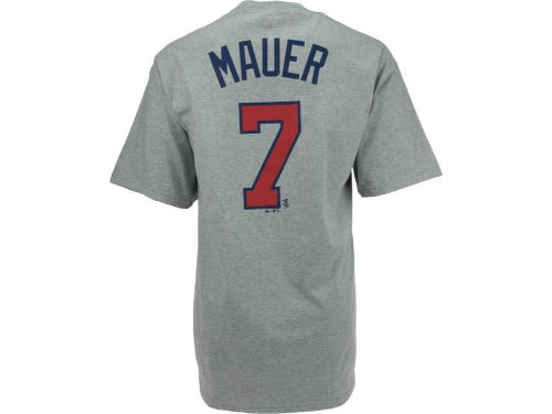 Minnesota Twins Joe Mauer Majestic MLB Player T-Shirt