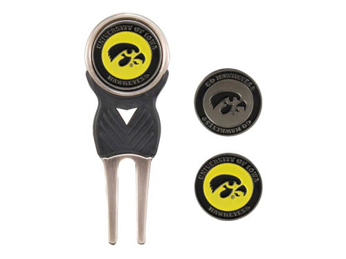 Iowa Hawkeyes Team Golf Divot Tool and Markers