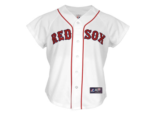 Boston Red Sox Majestic MLB Womens Replica Jersey