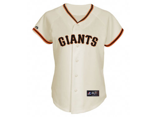 San Francisco Giants Majestic MLB Womens Replica Jersey