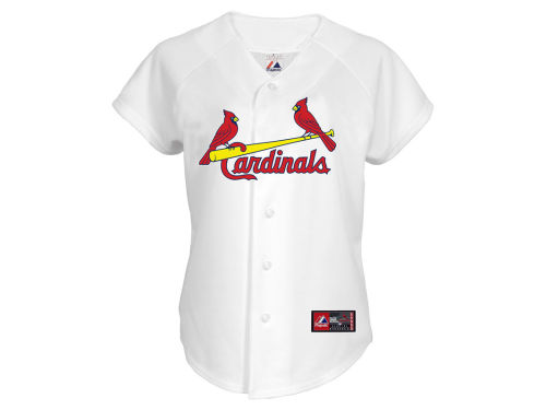 St. Louis Cardinals Majestic MLB Womens Replica Jersey