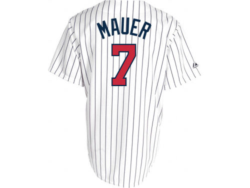 Minnesota Twins Joe Mauer Majestic MLB Womens Replica Jersey