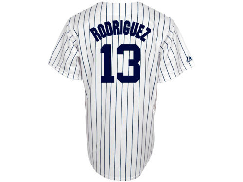 New York Yankees Alex Rodriguez Majestic MLB Womens Replica Jersey