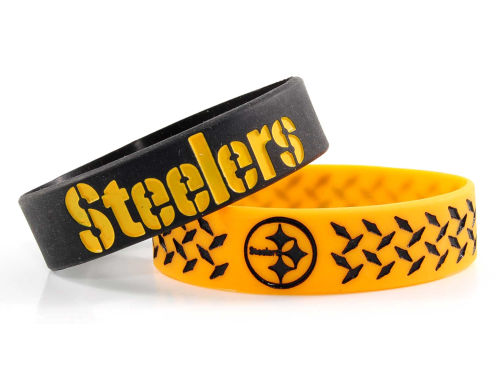 Pittsburgh Steelers 2pk Phat Bandz