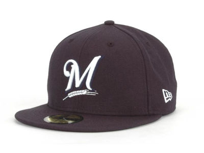 Milwaukee Brewers MLB C-Dub 59FIFTY Cap Hats