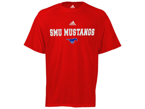Southern Methodist Mustangs adidas NCAA Sideline Speedwick T-Shirt