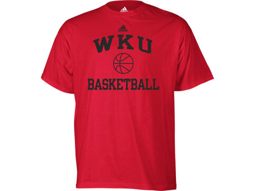 Western Kentucky Hilltoppers adidas NCAA Basketball Series T-Shirt