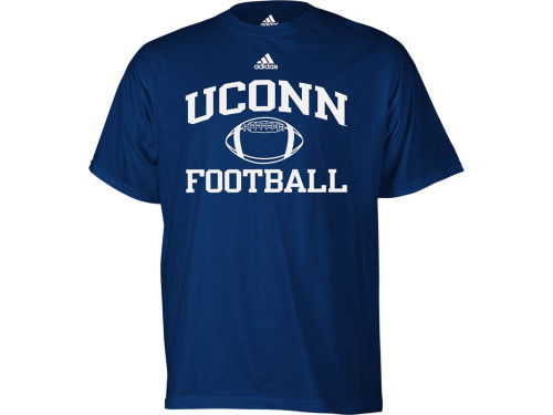Connecticut Huskies adidas NCAA Football Series T-Shirt