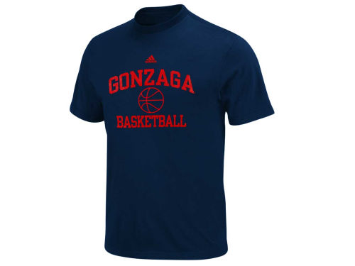 Gonzaga Bulldogs adidas NCAA Basketball Series T-Shirt