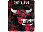 Chicago Bulls Northwest Company Plush Throw 50x60 Drop Down Bed & Bath