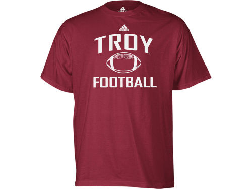 Troy University Trojans adidas NCAA Football Series T-Shirt