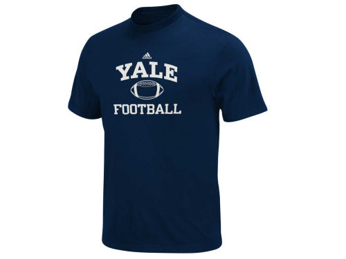 Yale Bulldogs adidas NCAA Football Series T-Shirt
