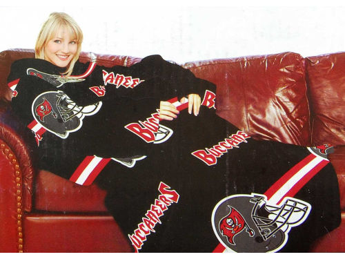 Tampa Bay Buccaneers Northwest Company Comfy Throw Blanket