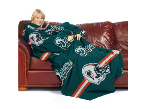 Miami Dolphins Comfy Throw Blanket