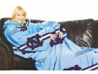 North Carolina Tar Heels Comfy Throw Blanket Bed & Bath