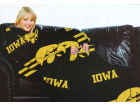 Iowa Hawkeyes Northwest Company Comfy Throw Blanket Bed & Bath